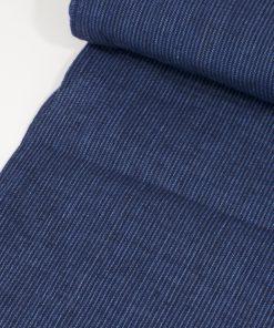 Baumwolle blau-schwarz