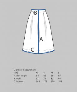 Three Pleat Skirt