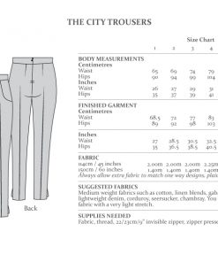 City Trousers von The Avid Seamstress