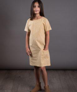 Gathered Dress für Mädchen von The Avid Seamstress
