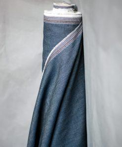 Chambray jeansblau