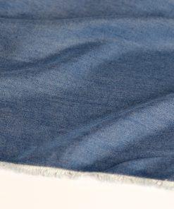 Viskose jeansblau