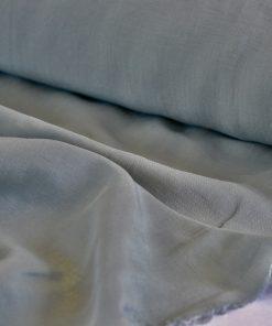 Leinen-Viskose salbeigrün
