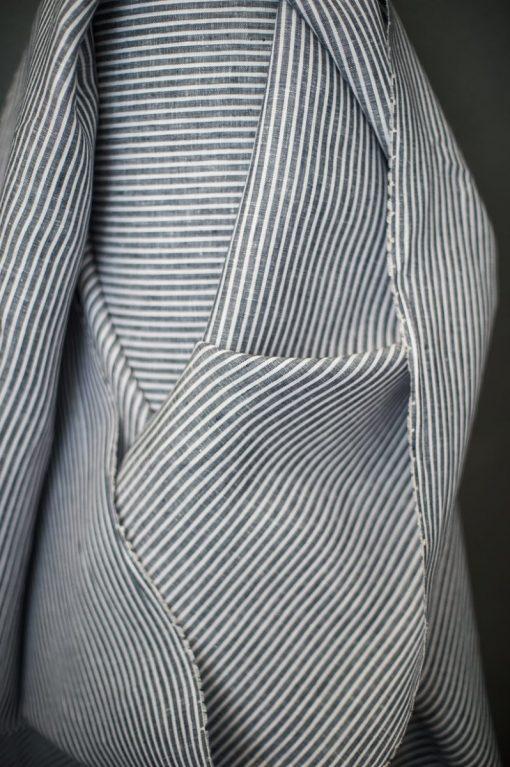 Leinen Farah Stripe