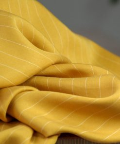 Tencel Pin Stripe Twill Amber