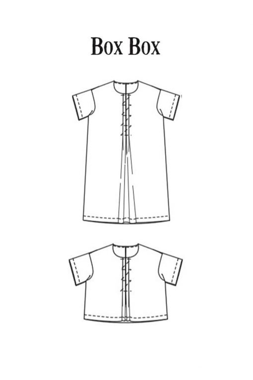 Box Box Dress Merchant and Mills