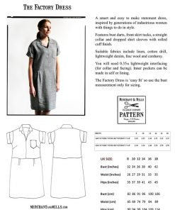 Factory Dress von Merchant und Mills