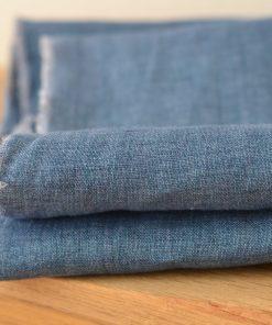 Leinen jeansblau