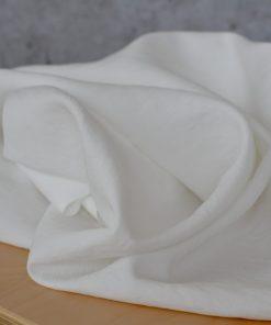 Viskose stonewashed milchweiss