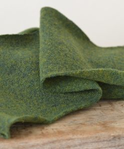 Schurwolle waldgrün