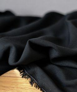 Futterstoff Viskose schwarz