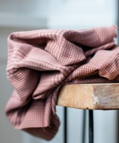 Tencel Plaid Old Rose