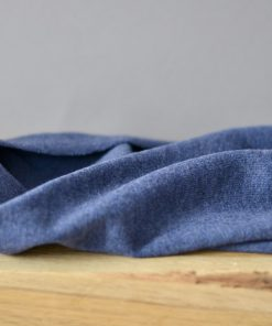 Merino Strick denimblue