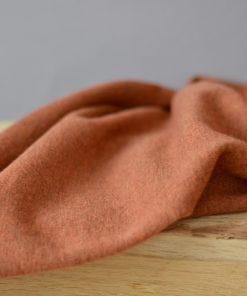 Merinostrick warm orange