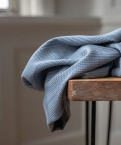 Tencel Plaid Sky