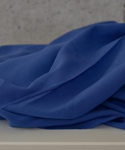 Futterstoff Viskose cobaltblau