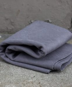 Heavy Washed Canvas Pewter