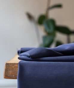 Tencel Stretch Twill Blueberry