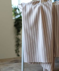 Tencel Stripe Twill Sand