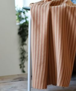 Tencel Stripe Twill Mustard