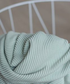 Self Stripe Knit Soft Mint