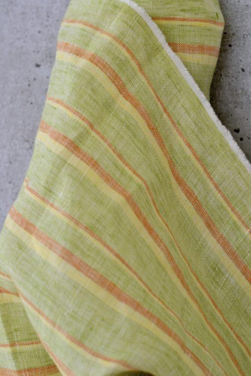 Leinen Candy Stripes