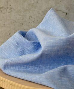 Leinen Cotton Lightblue