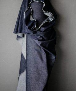 Washed Cotton Denim Dark