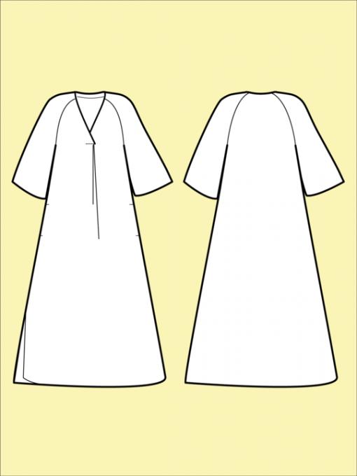 Assembly Line Kaftan Dress