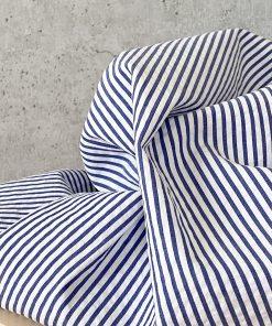 Cotton Blau Weiß