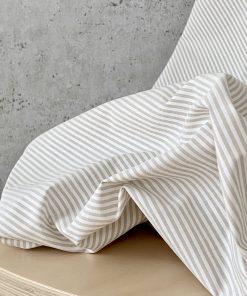 Cotton Sand stripes