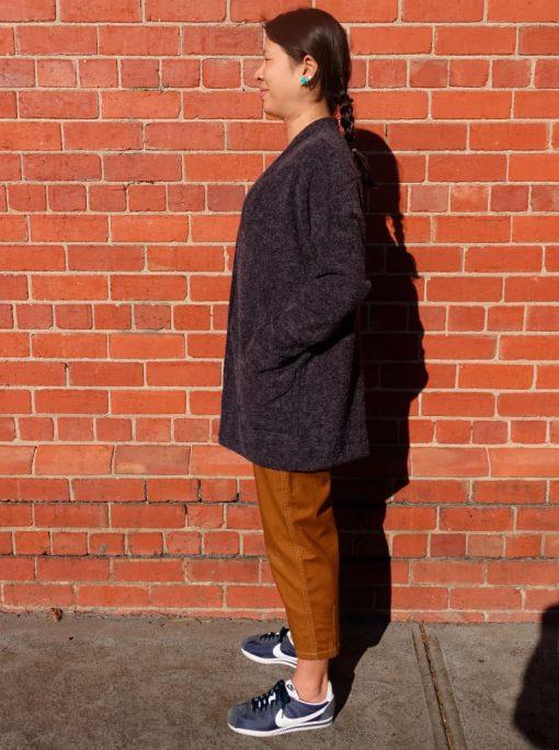 Sabel Boyfriend Cardigan Style Arc