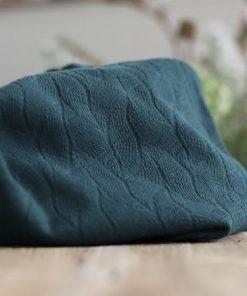 Organic Leaf Jacquard