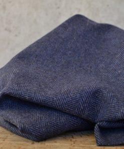 Wolle Blue Herringbone