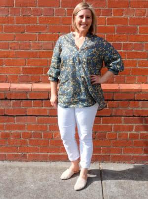 Kent Woven Tunic Style Arc