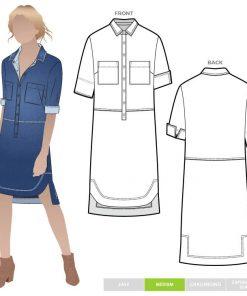 Murphy Woven Dress Style Arc