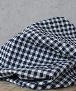 Baumwollstoff Carla Blue