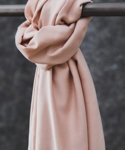 Smooth Drape Tencel Twill Powder Pink
