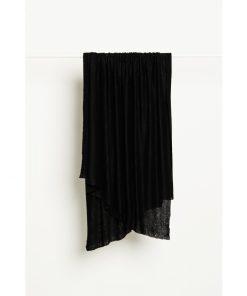 Fine Linen Knit Black
