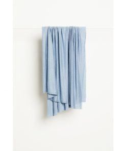 Fine Linen Knit Faded Blue