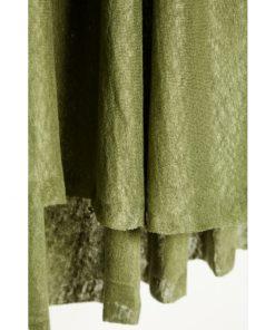 Fine Linen Knit Olive Green