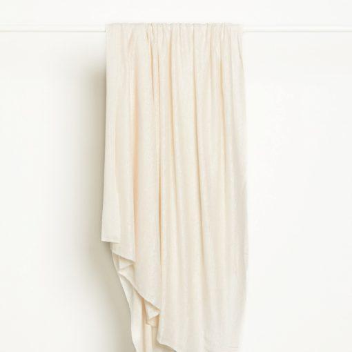 Fine Linen Knit Creamy White