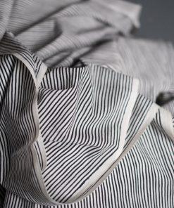 Merchant and Mills Lean Stripe Black