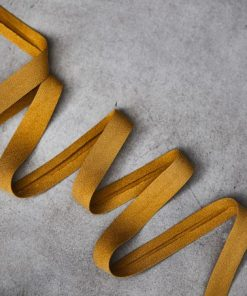 Schrägband Tencel Crepe Amber