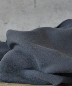 Viskose Crepe Marineblau