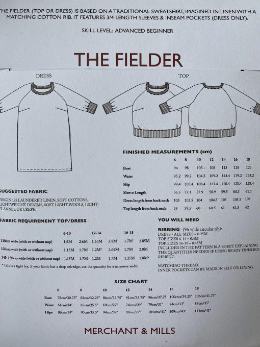 Fielder Dress Merchant and Mills