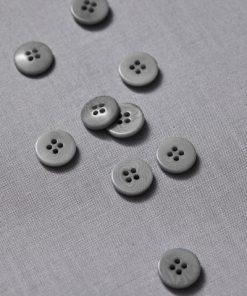 Plain Corozo Button Sky