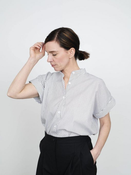 Cap Sleeve Shirt The Assembly Line